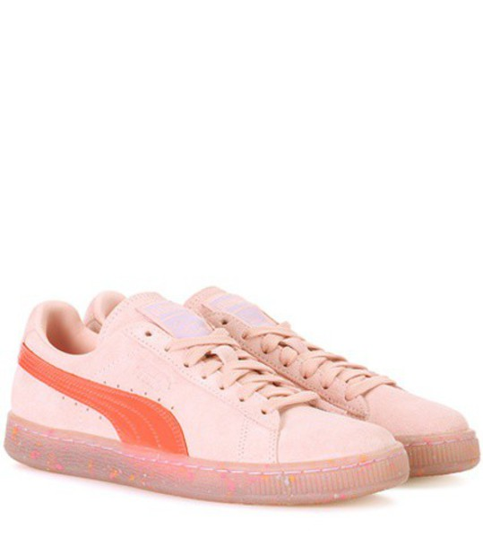 puma suede sneakers sneakers suede pink shoes