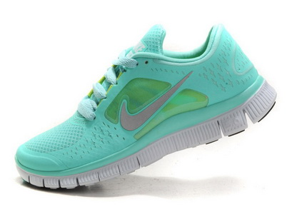 Nike Free Run  3 Womens Mint Green, Latest 2012 Nike Free Run Sale