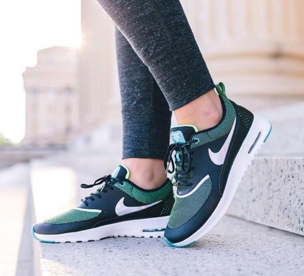 shoes nike shoes green