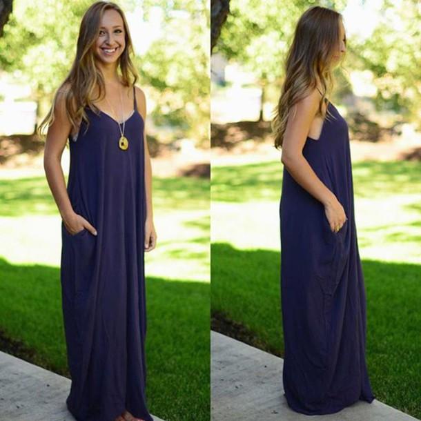 55aad8ee51e dress maxi maxi dress purple 2015 fashion casual boho bohemian love  beautiful lovestitch casual dress bohemian