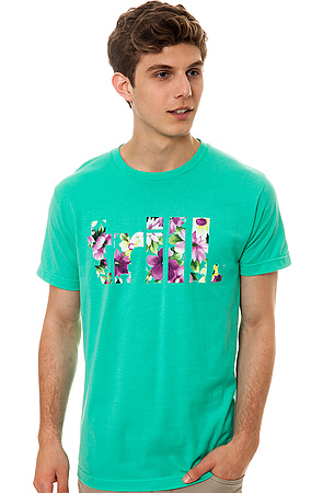 The Dope Boy Magic Tee Trill Pink Floral in Mint -  Karmaloop.com