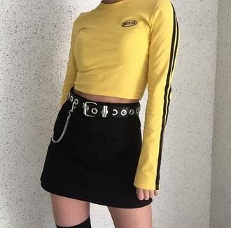 dress pretty spring summer. dress vintage retro instagram tumblr style fashion yellow plaid skirt