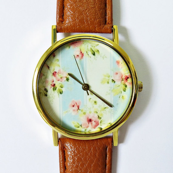 jewels floral freeforme watch fashion style