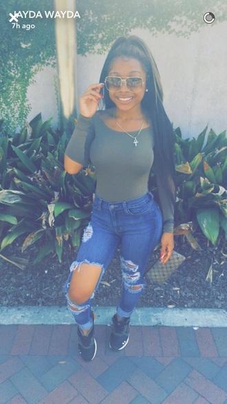 blouse amourjayda dress top jeans