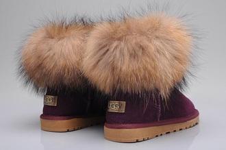 swimwear ugg boots australian brand ugg fox fur boots uggs shoes uggs fur purple shoes furry boots foxfur burgundy boots australia furry uggs fur purple
