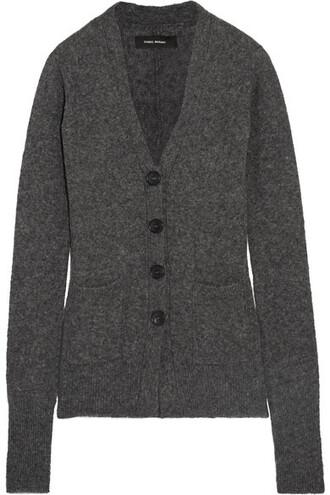 cardigan dark sweater