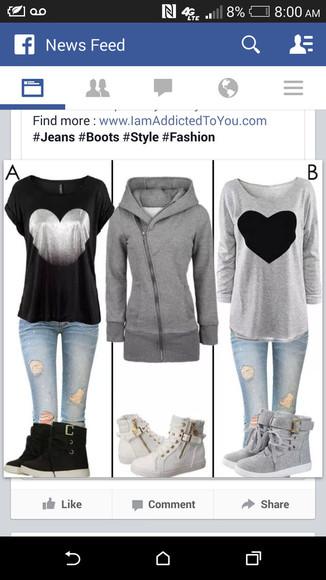 zip gray