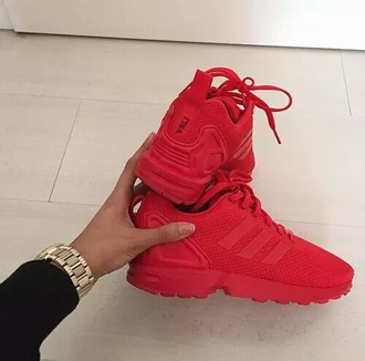 shoes adidas sneakers red red sneakers nike swag adidas shoes nike shoes