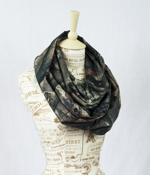 camouflage scarf mossy oak infinity scarf realtree real tree