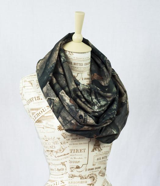 scarf mossy oak camouflage infinity scarf infinity scarf realtree real tree camouflage