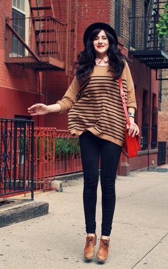 shoes brown sweater