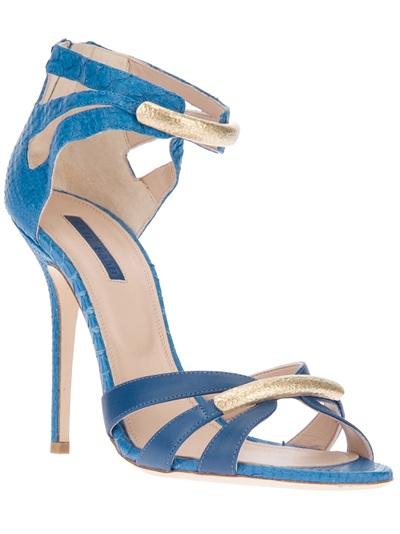 Elie Saab Strappy Sandal - Russo Capri - Farfetch.com