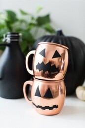 home accessory,diy,copper,mug,halloween,halloween decor,halloween accessory
