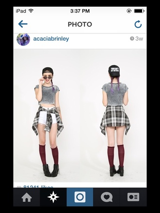 socks knee high socks acacia brinley