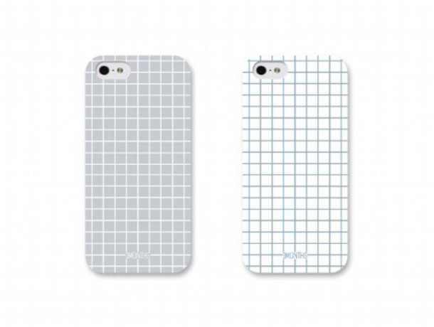 phone cover iphone iphone case iphone 5 case phone phone cover black withe grey iphone 5 case checkered white grid phone cover