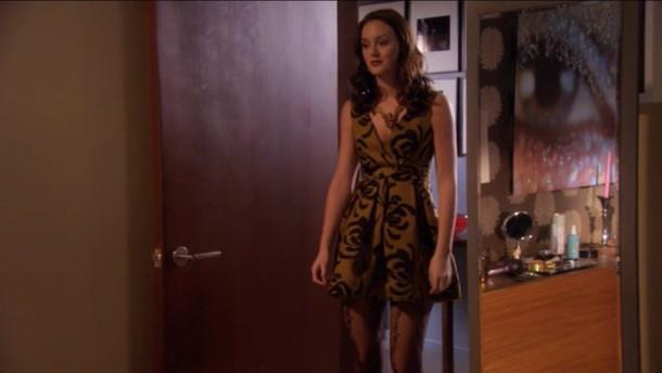 Dress Low Cut Black Design Gossip Girl Blair Dress Gossip Girl