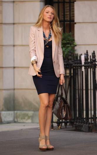 jacket pink fashion serena van der woodsen serena
