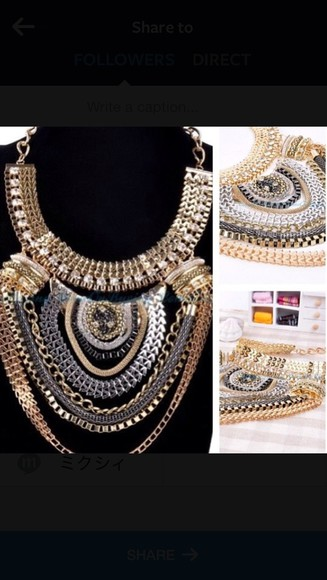 jewels black jewels necklace jewelry black gold statement necklace statement necklace gold chain body chain