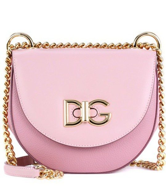 wifi bag shoulder bag leather pink