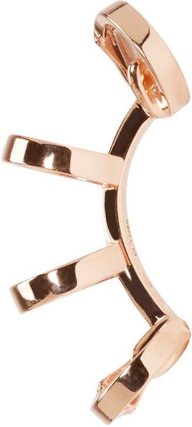 Repossi cuff rose gold rose ear cuff gold jewels