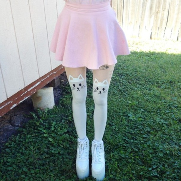 white stocking pics