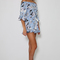 Obedient playsuit - blue floral