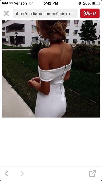 dress tan zipper back bodycon dress white tube top white dress strapless dress strapless top zipper back dresses tight tight dresses