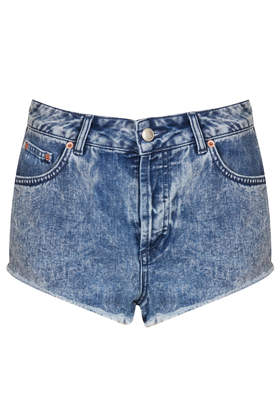 MOTO Brooke Acid Denim Hotpants - New In This Week  - New In  - Topshop USA