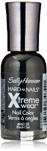 Amazon.com: Sally Hansen Hard as Nails Xtreme Wear, Black Out, 0.4 Fluid Ounce: Beauty