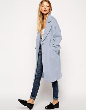 Asos cocoon coat at asos.com