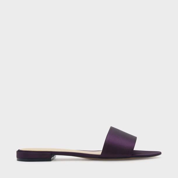 flats purple shoes