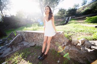 fashiontoast blogger white dress summer dress