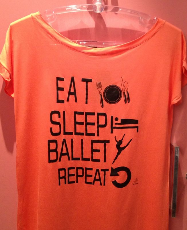 "Blusa ""eat, sleep, ballet..."""