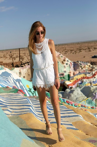 the blonde salad shoes sunglasses blogger romper