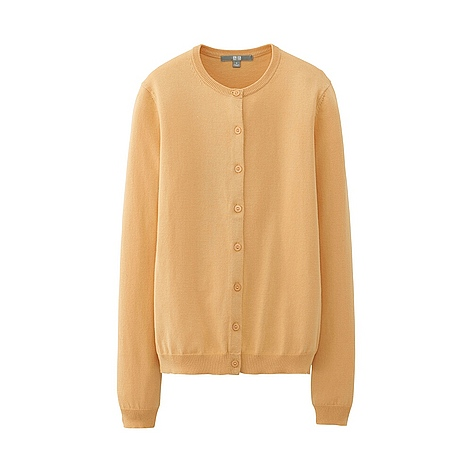 WOMEN Crew Neck Cardigan - UNIQLO UK Online fashion store