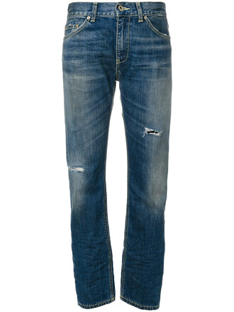 jeans ripped jeans women ripped cotton blue