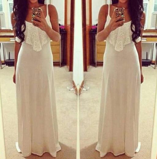 Summer maxi bodycon dress