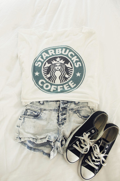 white sweater cool black trendy starbucks star bucks starbucks sweater awesome green black and white coffee