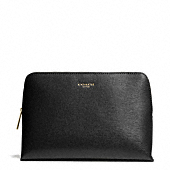 Coach :: COSMETIC CASE IN SAFFIANO LEATHER