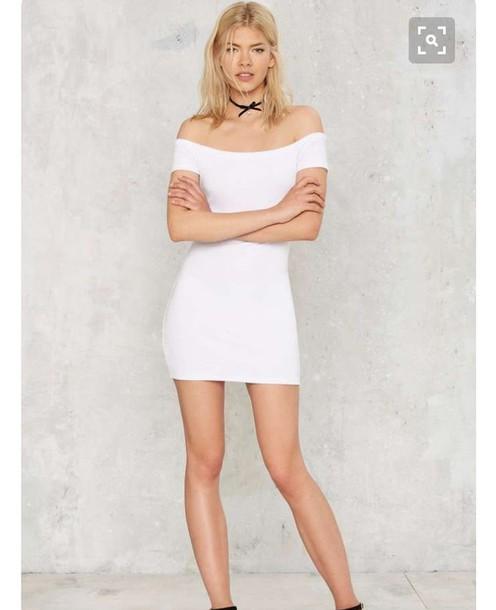 dress bodycon dress white dress short dress