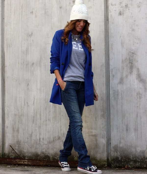 rebel attitude coat t-shirt jeans hat jewels shoes