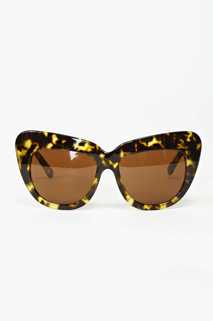 Chelsea Shades - Leopard in  Accessories Eyewear at Nasty Gal