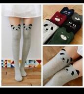 socks,kawaii,animals,panda,cats,bear