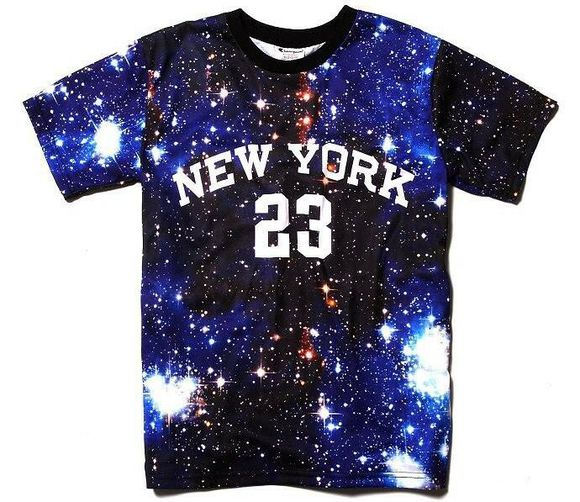 new york city ny t-shirt pyrex galaxy 23