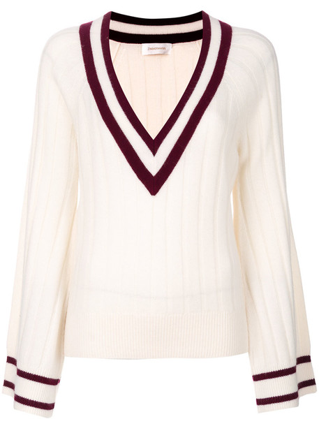 Zimmermann sweater women nude wool