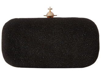 bag clutch black clutch glitter black glitter vivienne westwood