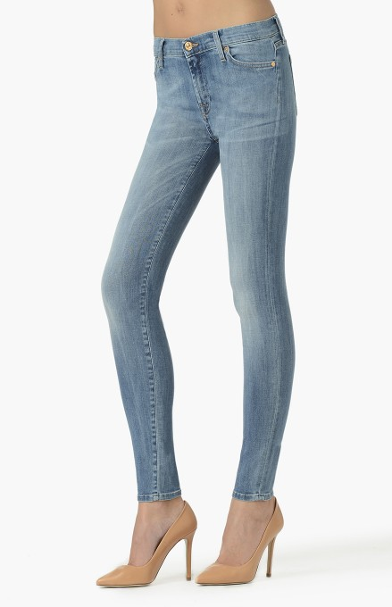 THE SKINNY SLIM ILLUSION WATERFALL  - Buy online at the Official 7 For All Mankind UK shop