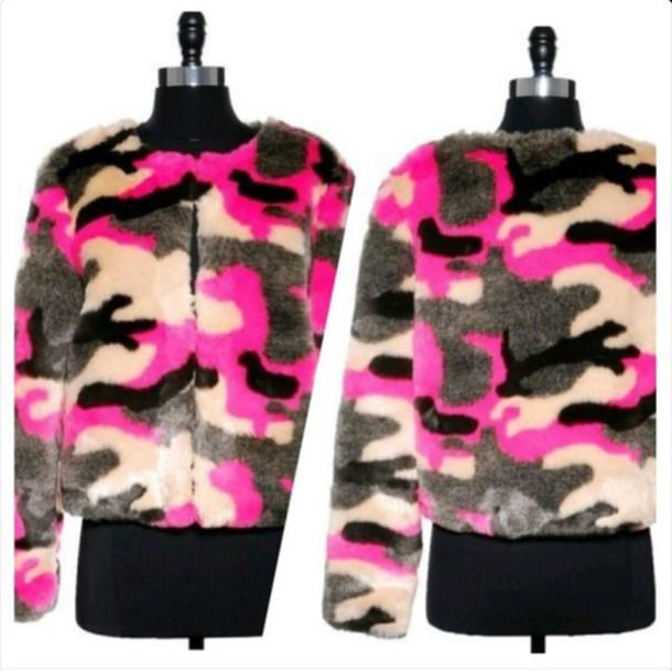 jacket jacke camo jacket pink camouflage