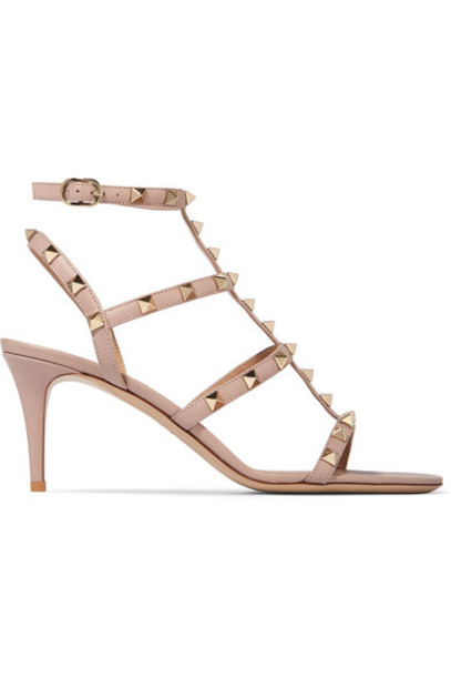 Valentino baby sandals leather sandals leather pink baby pink shoes