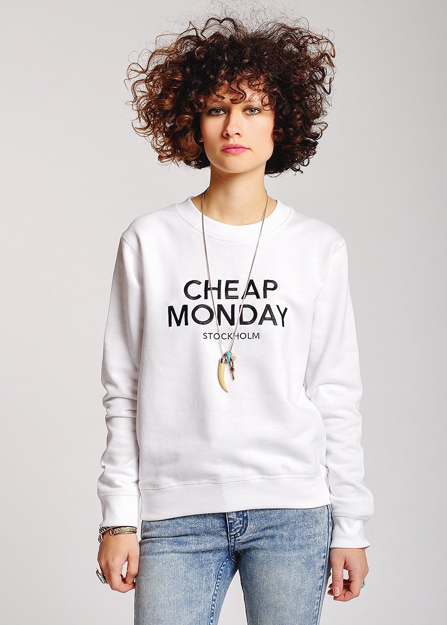 Cheap Monday Ellie Sweater White